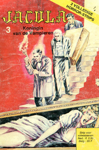 Cover for Jacula (De Vrijbuiter; De Schorpioen, 1973 series) #3