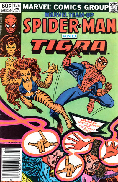 Cover for Marvel Team-Up (Marvel, 1972 series) #125 [Direct Edition]