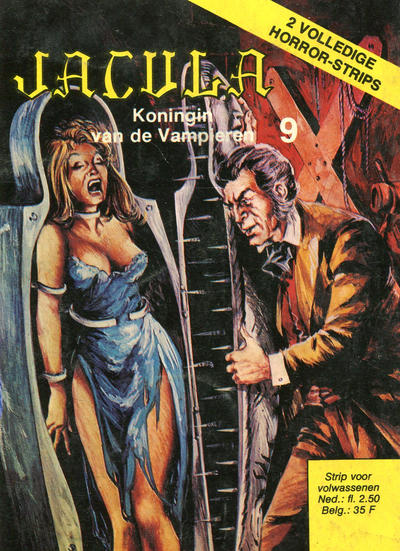 Cover for Jacula (De Vrijbuiter; De Schorpioen, 1973 series) #9