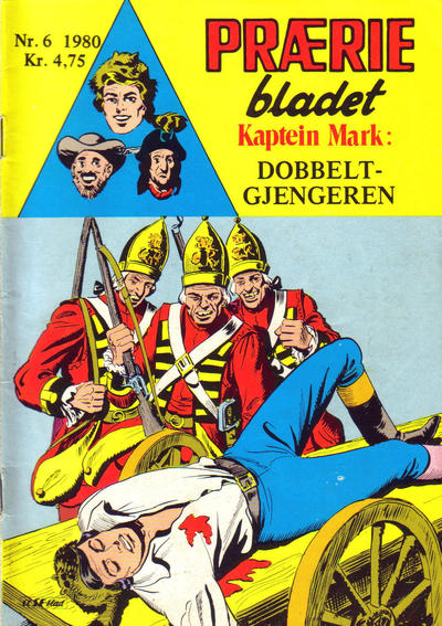 Cover for Præriebladet (Se-Bladene, 1957 series) #6/1980