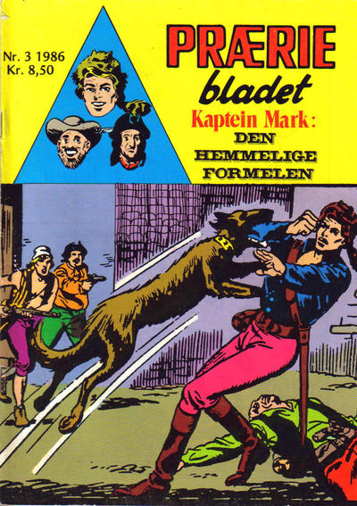Cover for Prriebladet (1957 series) #3/1986