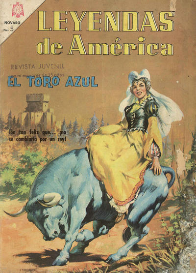 Cover for Leyendas de América (Editorial Novaro, 1956 series) #123