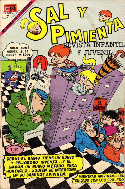 Cover for Sal y Pimienta (Editorial Novaro, 1964 series) #57