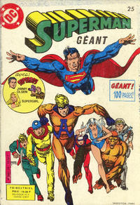 Cover Thumbnail for Superman Géant (Sage - Sagédition, 1979 series) #25