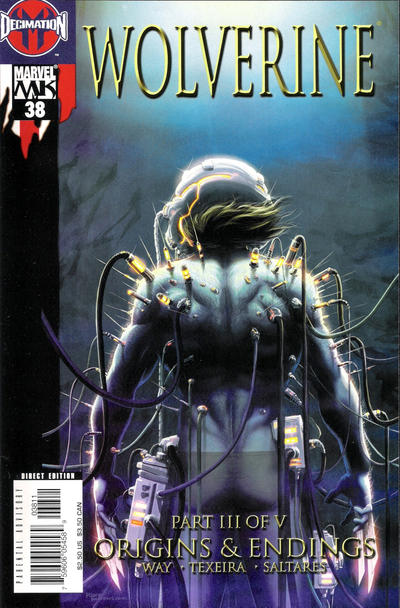 Cover for Wolverine (2003 series) #38 [Direct Edition]