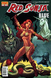 Cover for Red Sonja: Blue (Dynamite Entertainment, 2011 series)  [Mel Rubi Cover]