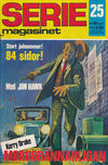 Cover for Seriemagasinet (Semic, 1970 series) #25/1971