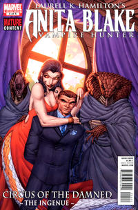 Cover Thumbnail for Anita Blake: Circus of the Damned - The Ingenue (Marvel, 2011 series) #4