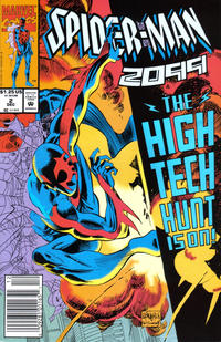Cover Thumbnail for Spider-Man 2099 (Marvel, 1992 series) #2 [Newsstand]