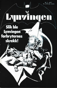 Cover Thumbnail for Lynvingen (Semic, 1977 series) #7/1977