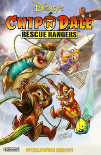 Cover for Chip 'n' Dale Rescue Rangers: Worldwide Rescue (2011 series) #[nn]