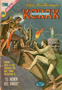Cover Thumbnail for Korak (Editorial Novaro, 1972 series) #11