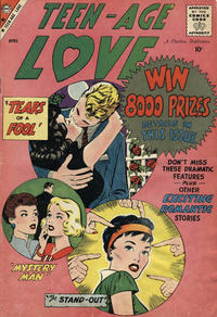 Cover Thumbnail for Teen-Age Love (Charlton, 1958 series) #8