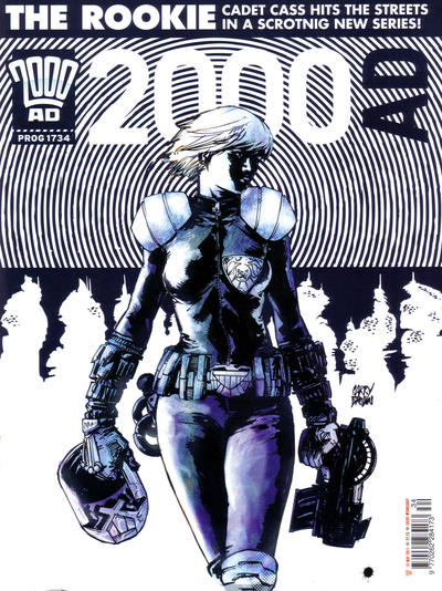 Cover for 2000 AD (Rebellion, 2001 series) #1734