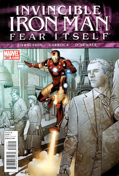 Cover for Invincible Iron Man (Marvel, 2008 series) #504 [Variant Edition]