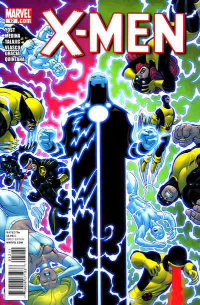 Cover for X-Men (Marvel, 2010 series) #12 [Variant Edition]