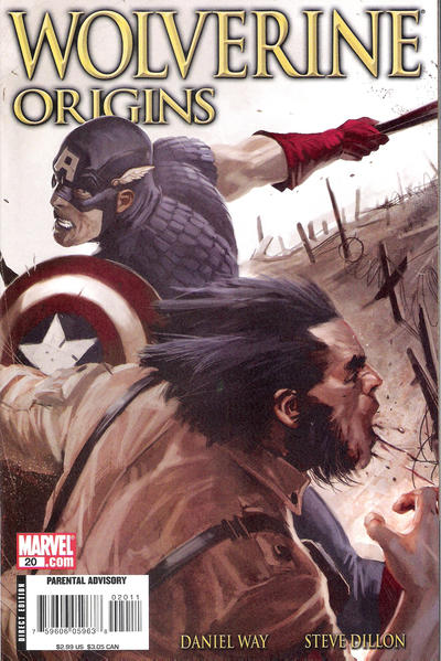 Cover for Wolverine: Origins (2006 series) #20 [Direct Edition]