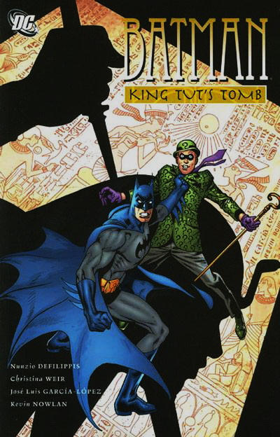Cover for Batman: King Tut's Tomb (2010 series) #[nn]