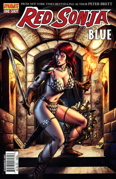 Cover for Red Sonja: Blue (2011 series) #[nn] [Mel Rubi Cover]