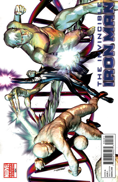 Cover for Invincible Iron Man (2008 series) #504 [Variant Edition]