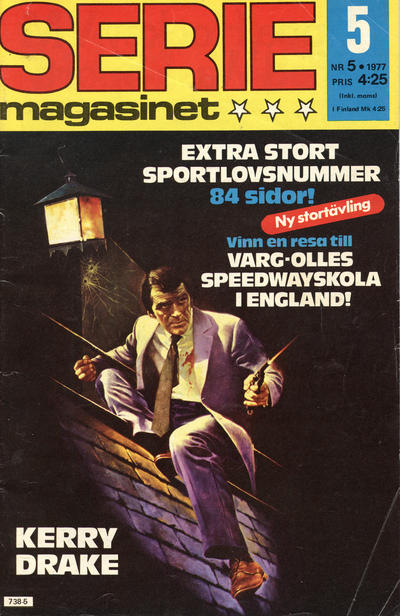 Cover for Seriemagasinet (Semic, 1970 series) #5/1977
