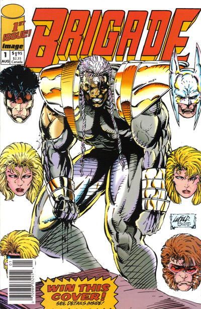 Cover for Brigade (Image, 1992 series) #1 [Direct Edition]