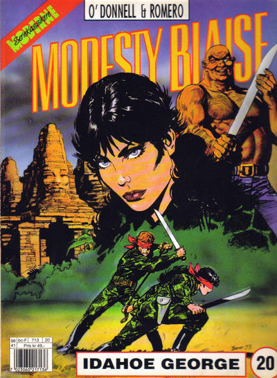 Cover for Modesty Blaise (Egmont Serieforlaget, 1998 series) #20 - Idahoe George