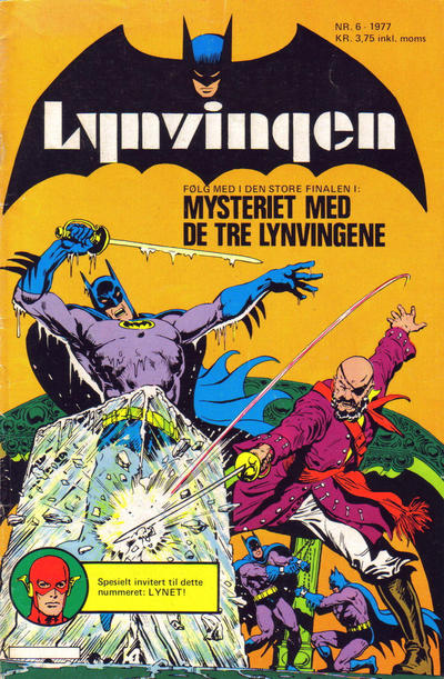 Cover for Lynvingen (1977 series) #6/1977