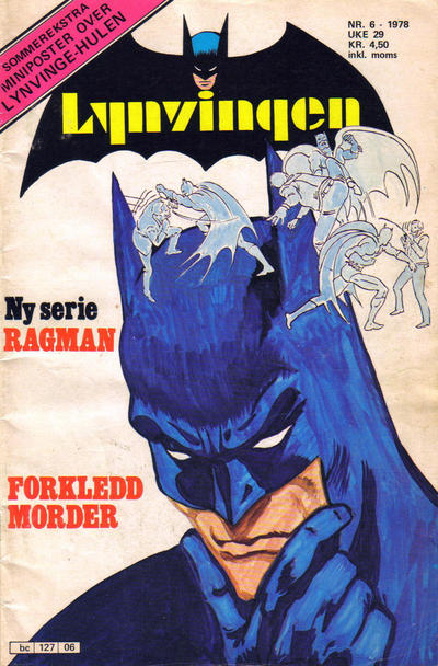Cover for Lynvingen (Semic, 1977 series) #6/1978