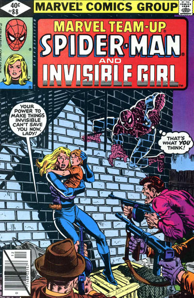 Cover for Marvel Team-Up (Marvel, 1972 series) #88