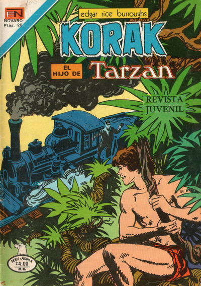 Cover for Korak (1972 series) #78