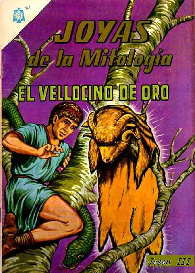 Cover for Joyas De La Mitología (Editorial Novaro, 1962 series) #21