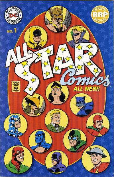 Cover for All Star Comics (DC, 1999 series) #1 [Retailer Representative Edition]
