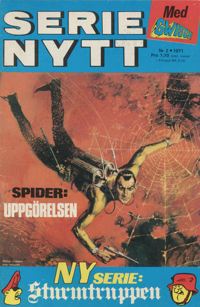 Cover for Serie-nytt [delas?] (Semic, 1970 series) #2/1971