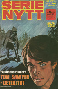Cover Thumbnail for Serie-nytt [delas?] (Semic, 1970 series) #10/1972