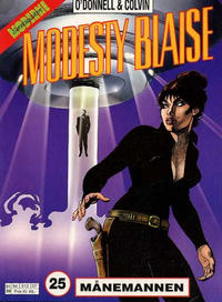 Cover Thumbnail for Modesty Blaise (Hjemmet / Egmont, 1998 series) #25 - Månemannen