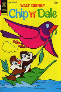 Cover Thumbnail for Walt Disney Chip 'n' Dale (Western, 1967 series) #24 [Gold Key Variant]