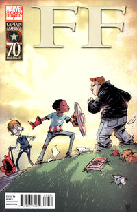 Cover Thumbnail for FF (Marvel, 2011 series) #5 [Captain America movie promotion]