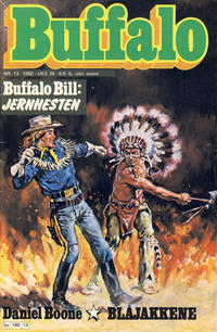 Cover for Buffalo (Semic, 1982 series) #13/1982