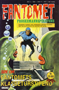 Cover Thumbnail for Fantomet (Semic, 1976 series) #9/1984