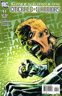 Cover Thumbnail for Green Lantern: Emerald Warriors (DC, 2010 series) #11