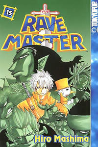 Cover Thumbnail for Rave Master (Tokyopop, 2004 series) #15