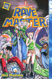 Cover Thumbnail for Rave Master (Tokyopop, 2004 series) #10