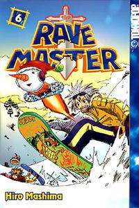 Cover for Rave Master (Tokyopop, 2004 series) #6