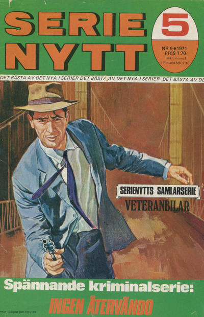 Cover for Serie-nytt [delas?] (Semic, 1970 series) #5/1971