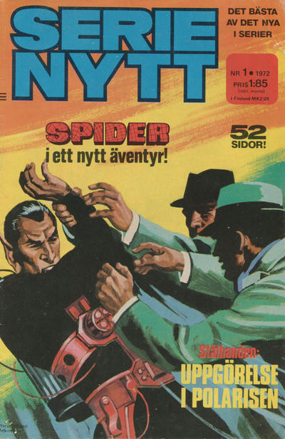 Cover for Serie-nytt [delas?] (Semic, 1970 series) #1/1972