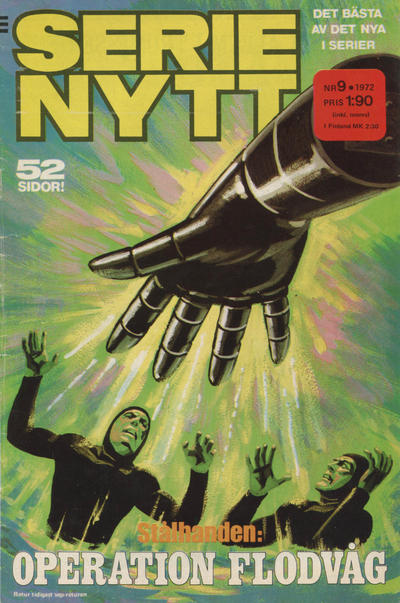 Cover for Serie-nytt [delas?] (Semic, 1970 series) #9/1972