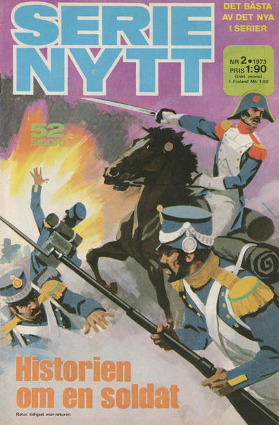 Cover for Serie-nytt [delas?] (Semic, 1970 series) #2/1973
