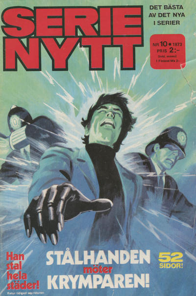 Cover for Serie-nytt [delas?] (1970 series) #10/1973