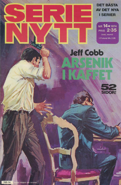 Cover for Serie-nytt [delas?] (Semic, 1970 series) #14/1974